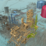 Raster Data inside the 3D Digital Twin Model using 3D AVEVA Engage for Hammerfest LNG
